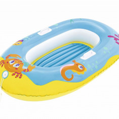 Barcuta Gonflabila Bestway Junior, Crustaceul Fericit, 135x89cm, Albastru