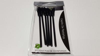 Set de 6 pensule pentru gene foto