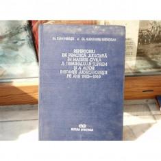 Repertoriu de practica judiciara in materie civila , Dr. Ioan G. Mihuta , 1970