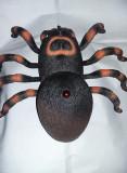 Jucarie Vintage din plastic-spider paianjen marima mare 30 cm,Stare foto,T.GRATU