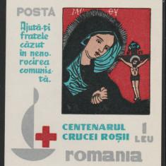 Romania Exil 1963, Crucea Rosie colita propaganda anticomunista Emisiunea 33