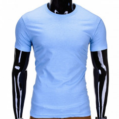 Tricou barbati bumbac S970 light blue