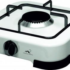 Plita independenta pe gaz Albatros APG11W 1 arzator Alba