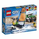Masina 4x4 si Catamaranul 60149 Lego City