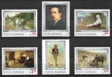 România - 1977 - LP 929 - Reproduceri de artă / Grigorescu - serie completă MNH, Nestampilat