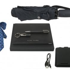 Set Business Leader Hugo Boss Personalizabil si Cravata Gratie Filipeti