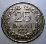7.831 ROMANIA RPR 25 BANI 1955, Cupru-Nichel