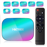 Cumpara ieftin TV Box Techstar® HK1 BOX, Android 9.0, UltraHD 8K, 4K@ 60fps, 4GB RAM, 32GB ROM, 5G WiFi, Bluetooth 4.0, Cu IPTV, Model 2020