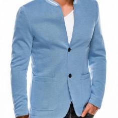 Sacou casual barbati M84 - albastru