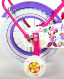 Bicicleta Volare Minnie Mouse 12 inch cu portbagaj, E&L Cycles