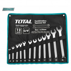 Set 12 chei combinate - 6-24mm Total THT1022121 Profesionale