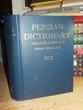 MAHSHID MOSHIRI - PERSIAN DICTIONARY / DICTIONAR PERSAN , TEHERAN , 1992