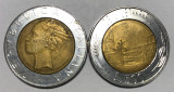 Moneda Italia 500 Lire 1996 Bimetal
