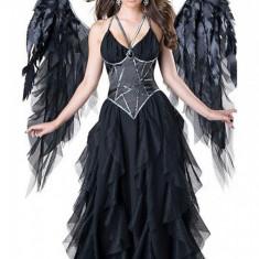 F642-1 Costum tematic Halloween, model inger gothic, M