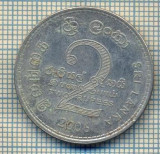 12217 MONEDA - SRI LANKA - 2 RUPEES  -ANUL 2006 -STAREA CARE SE VEDE