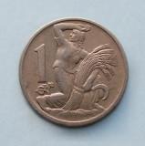 CEHOSLOVACIA  -  1 Koruna 1924, Europa, Cupru-Nichel