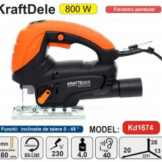 Fierastrau Pendular De Mana 800W KraftDele KD1674