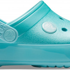 Saboți Copii casual Crocs Crocband Ice Pop Kids Clog, 27.5 - 30.5, 32.5 - 34.5, Albastru
