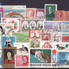 12 - lot timbre diverse tari