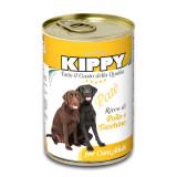 Pate Kippy dog, cu pui si curcan, 400g