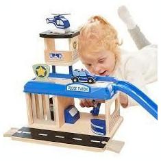 Jucarie de rol - Statie de politie PlayLearn Toys