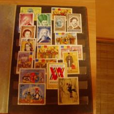 clasor cu timbre romania 1990