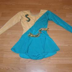 costum carnaval serbare rochie dans gimnastica pentru copii de 10-11-12 ani