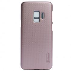 Husa + Folie de Protectie Samsung Galaxy S9 Roz Nillkin