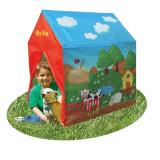 """Cort de joaca pentru copii """"Ferma animalelor"""" 96x71x104 cm, Multicolor, Textil"""
