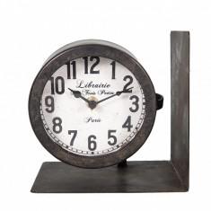 Suport pentru carti cu ceas Time