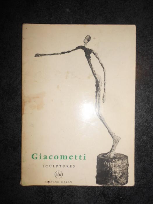 GIACOMETTI - SCULPTURES (Mica enciclopedie de arta)