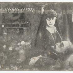 România, carte poștală necirculată, Regele Ferdinand și Regina Maria