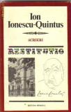 Ion Ionescu-Quintus - Scrieri
