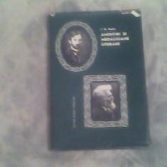 Amintiri si medalioane literare-G.Bacovia,G.Ibraileanu-I.M.Rascu