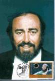 Ilustrata maxima, personalitati, muzica, tenorul Pavarotti