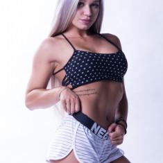 Top fitness Nebbia, S, negru