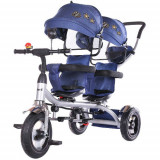 Cumpara ieftin Tricicleta Gemeni 2Play, Colectia 2020 Navy, Chipolino