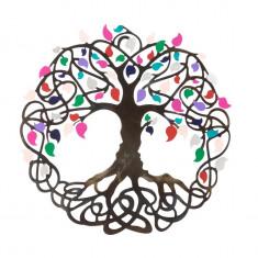 Placheta decorativa perete Copacul vietii - Bucurie