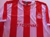 "Tricou fotbal OLYMPIACOS (Grecia) nr.18 jucatorul Ioannis ""Giannis"" Fetfatzidis, XL, Din imagine, De club"