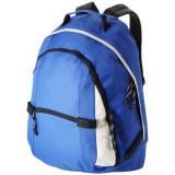 Rucsac confortabil, curele ajustabile, 2 compartimente, Everestus, CO, poliester, albastru, saculet si eticheta bagaj incluse