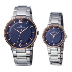 Set ceasuri pentru dama si barbati, Daniel Klein Pair, DK11976-6