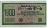 Bancnote Germania -1000 marci 1922