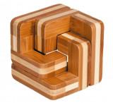 Joc logic IQ din lemn bambus Scari