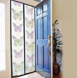 Cumpara ieftin Perdea magnetica anti insecte 210 x 100 cm model fluturi sau flori