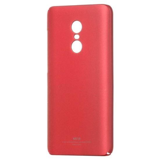 Husa MSVII Rosie Folie Protectie Sticla Pentru Xiaomi Redmi 5