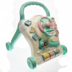 Set Antemergator de jucarie cu volan, pentru bebelusi - 69858