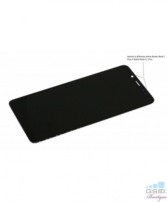Ecran LCD Display Xiaomi Redmi Note 5, Note 5 Pro Negru