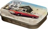 Cutie metalica cu bomboane - Route 66 US