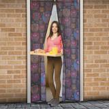 Perdea anti-insecte pentru usa, inchidere magnetica, 100x210 cm
