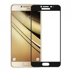 Folie Sticla Samsung Galaxy A5 2017 Flippy Full Glue Negru
